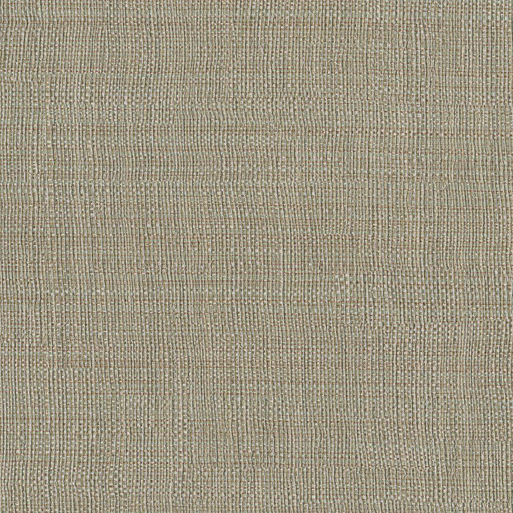 Brewster Brown Linen Texture Wallpaper