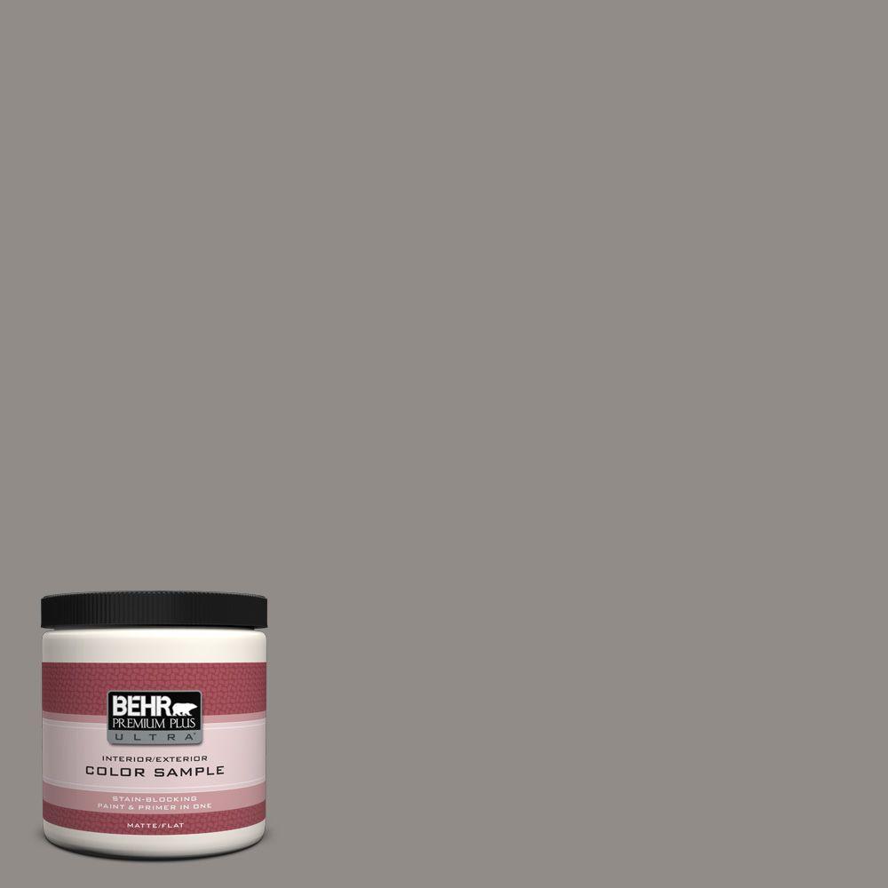 BEHR Premium Plus Ultra 8 oz. #790F-4 Creek Bend Interior/Exterior Paint Sample