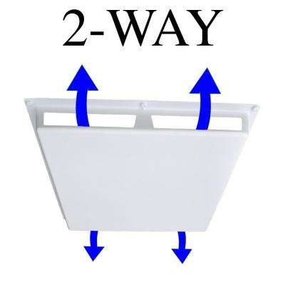 Commercial 2-Way Air Deflector Cover for 24 in. x 24 in. Diffuser
