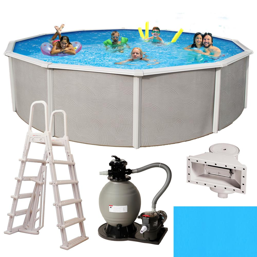 Cove Molding for Round /& Oval Above-Ground Swimming Pools ~ Peel /& Stick Pieces