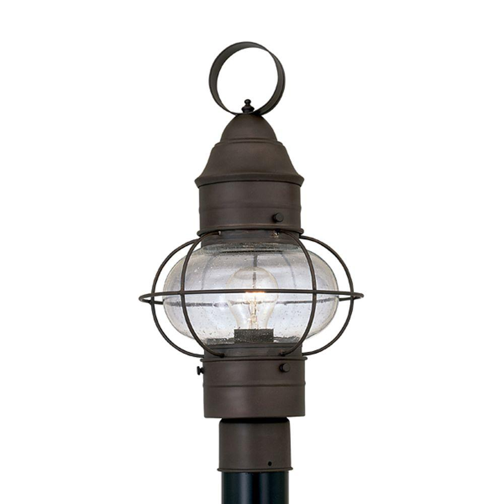 Designers Fountain Cork Rustique Outdoor Post Lantern