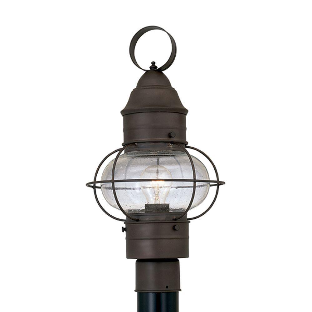 Designers Fountain Cork Rustique Outdoor Post Lantern