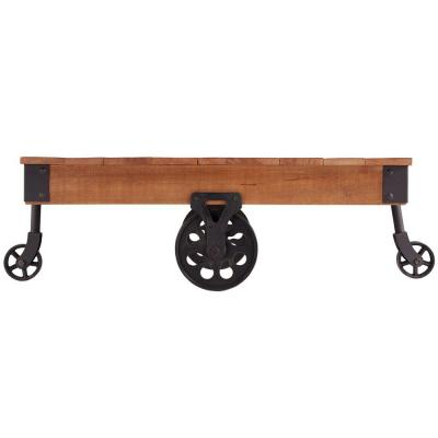 Grove Place Distressed Mobile Coffee Table