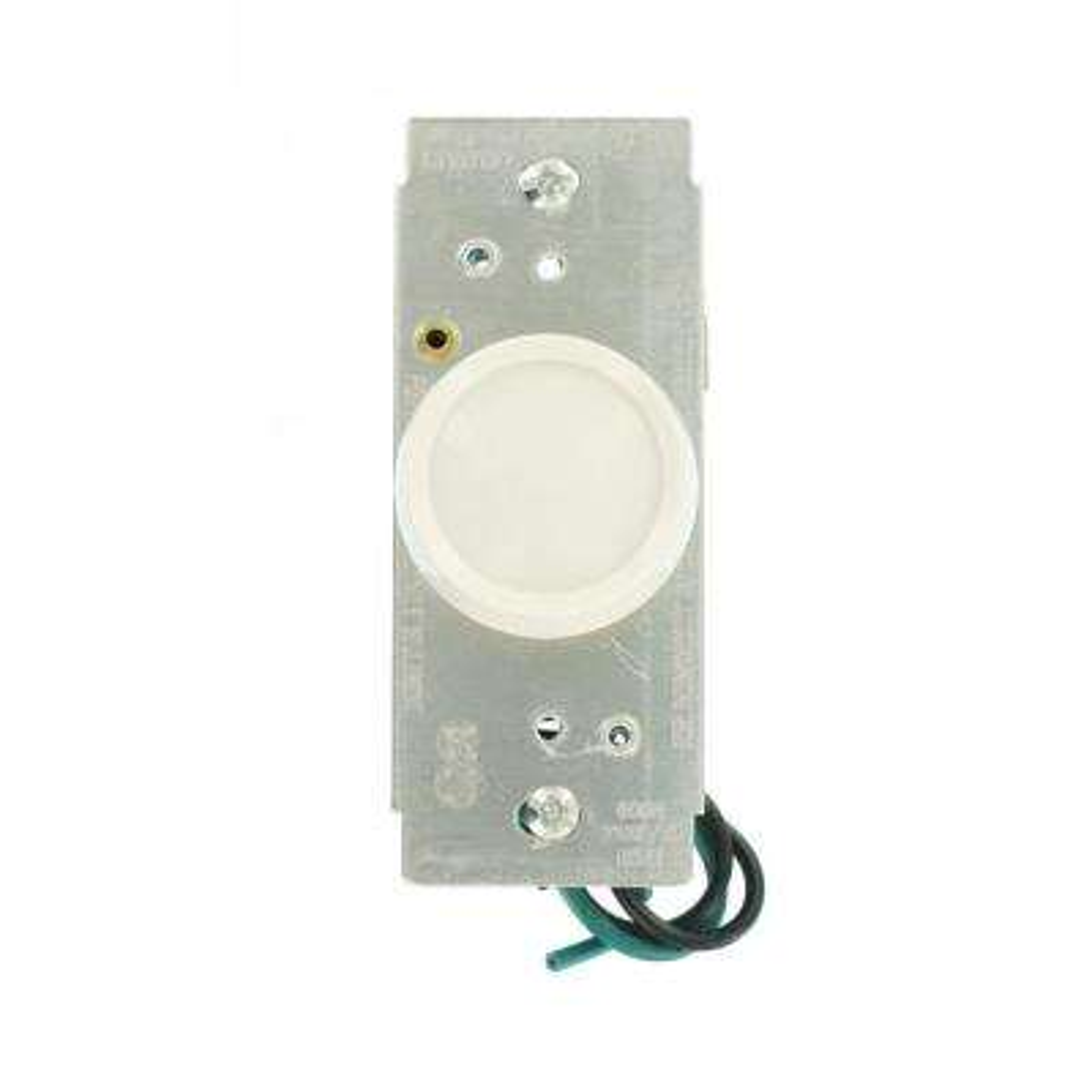 600-Watt 120-Volt Push On-Off Single Pole AC Trimatron Rotary Dimmer, White