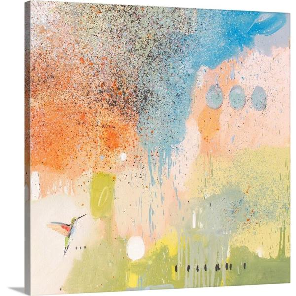 Greatcanvas Hummingbird At Home I By Anthony Grant Canvas Wall Art