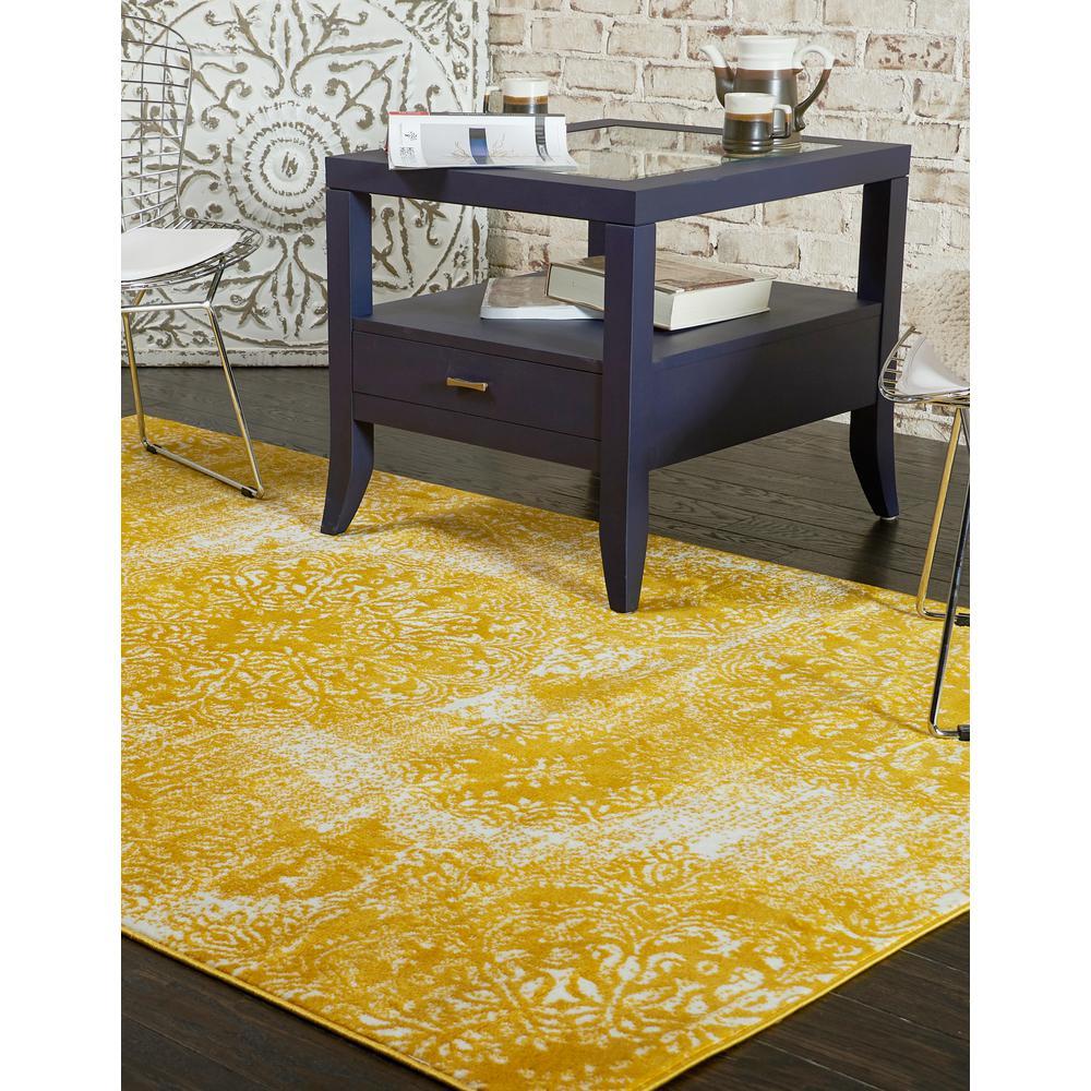 Sofia Grand Yellow 9' 0 x 12' 0 Area Rug