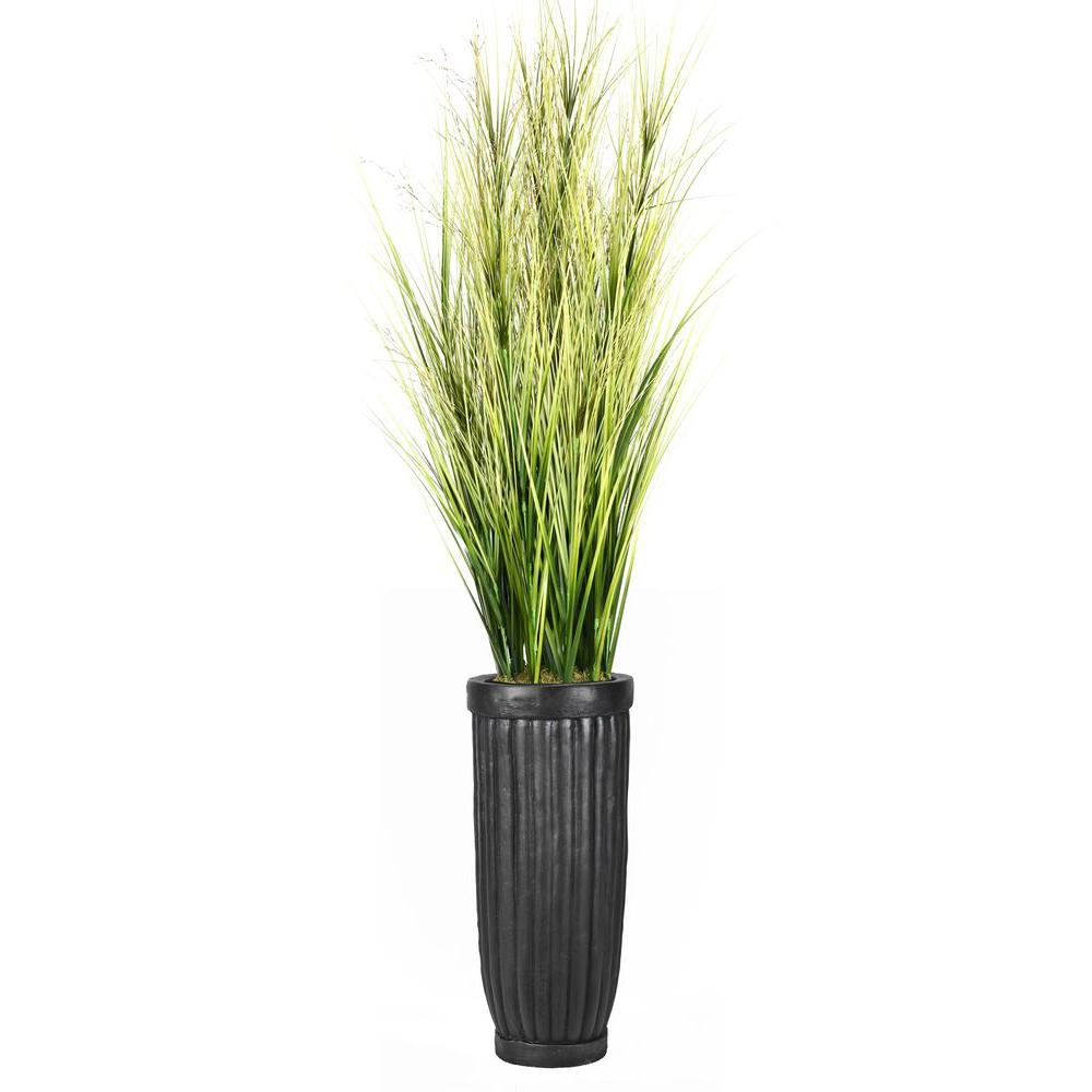 Laura Ashley 81 In Tall Onion Grass With Twigs In Planter