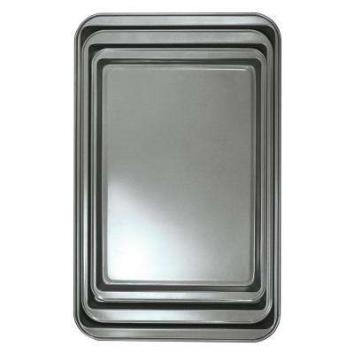 BakeIns 3-Piece Carbon Steel Cookie Sheet Set
