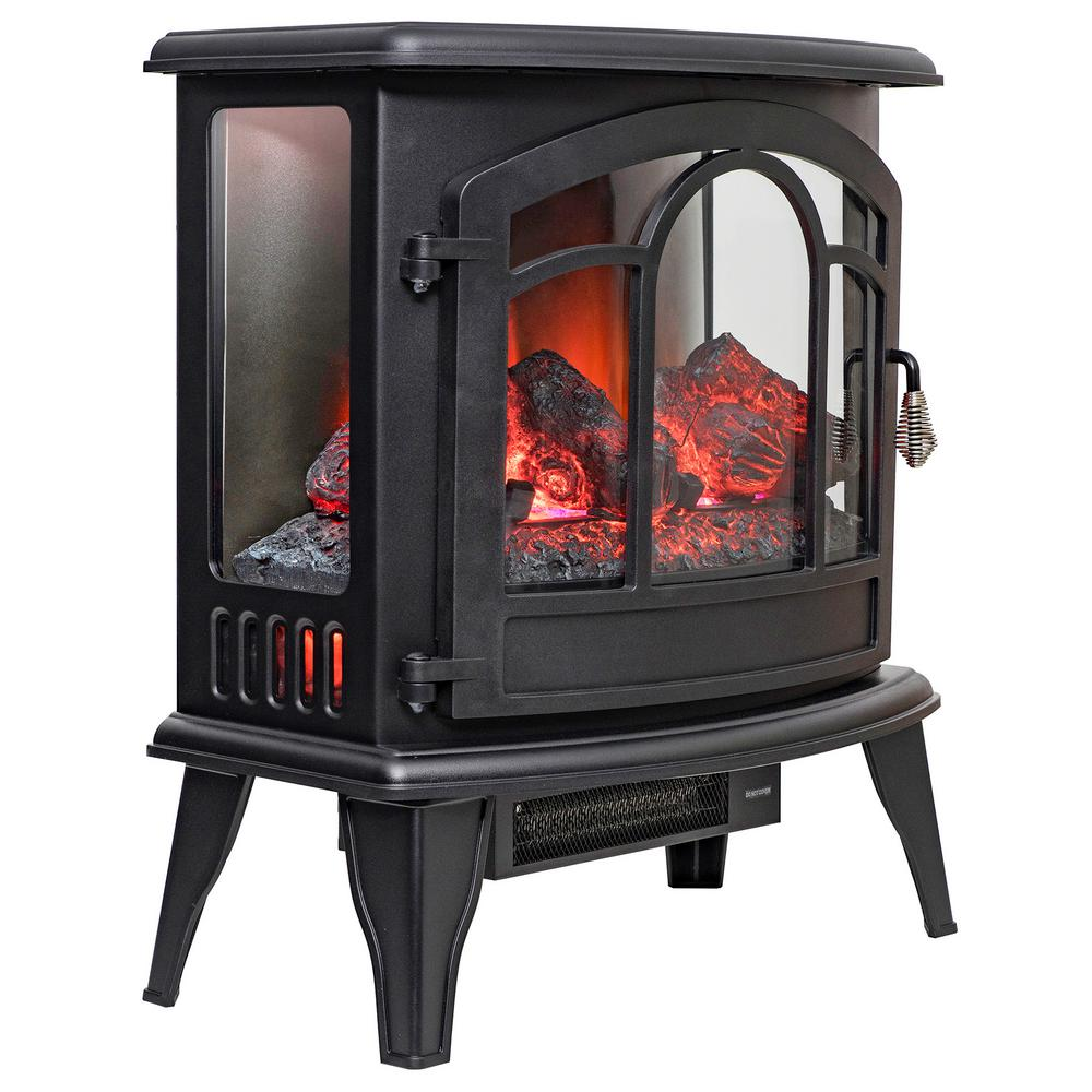 Electric Fireplace Heaters Home Depot: Dimplex Wilson 50 In. Freestanding Electric Mantel In Rift