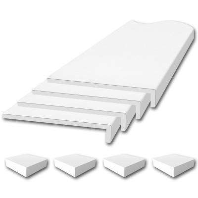 Window Sill Trim Kit in White
