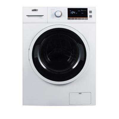 2 cu. ft. All-in-One Washer and Electric Ventless Dryer in White