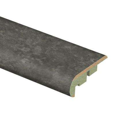 Slate Shadow 3/4 in. Thick x 2-1/8 in. Wide x 94 in. Length Laminate Stair Nose Molding