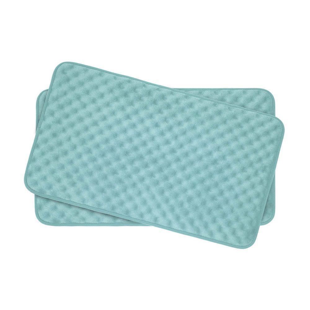 Bouncecomfort Massage Aqua 17 In X 24 In Memory Foam 2