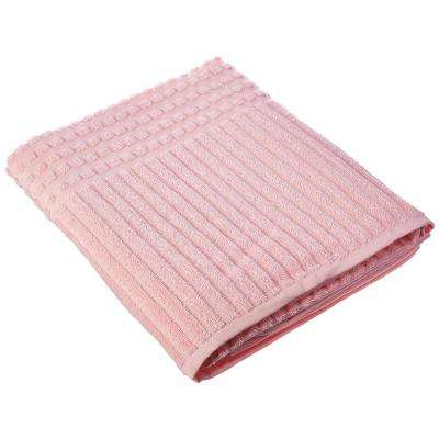 Piano Collection 27 in. W x 55 in. H %100 Turkish Cotton Luxury Bath Towel in Pink
