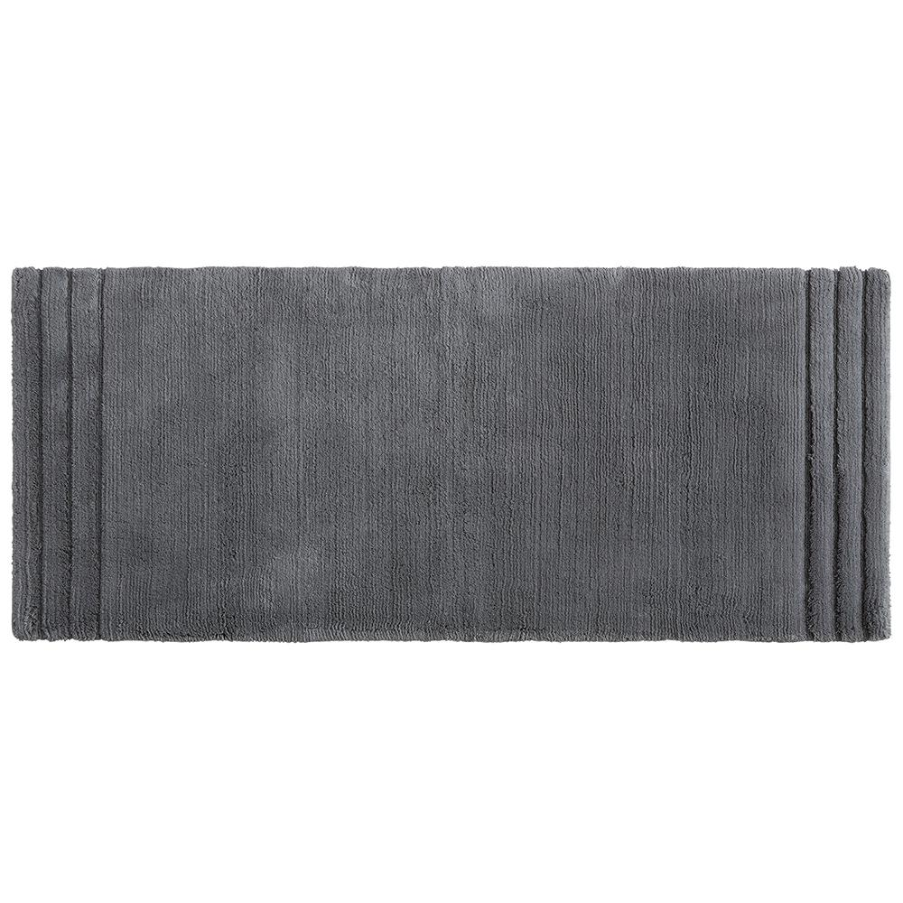 Exceptionnel Mohawk Empress 24 In. X 60 In. Cotton Runner Bath Rug In Pewter