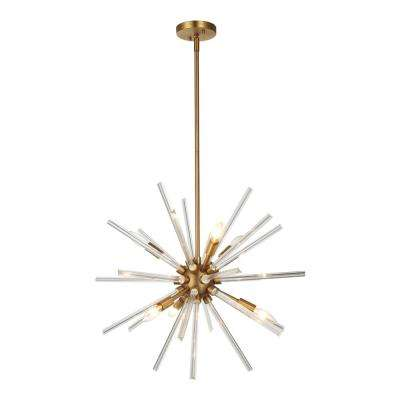 Harbin 6-Light Antique Bronze Chandelier