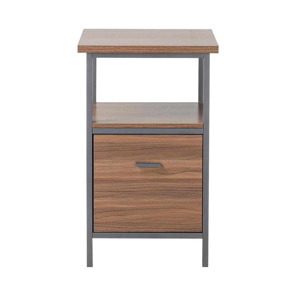 Homestar Natural Filing Cabinet