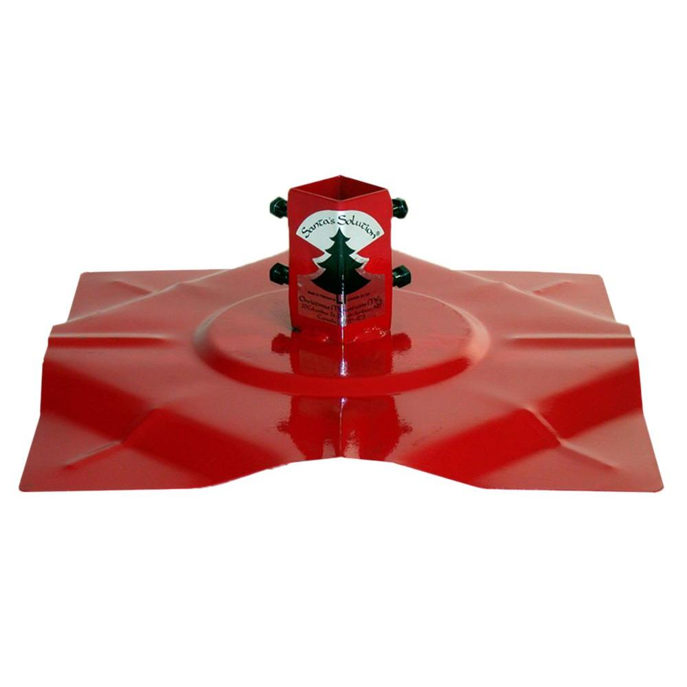 Santa S Solution Steel Tree Stand For Artificial Trees Up