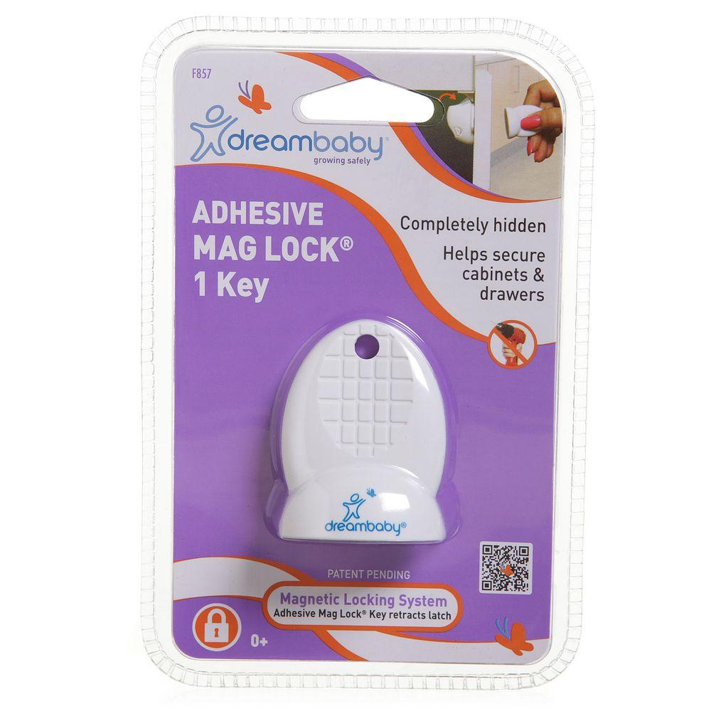 Dreambaby  Magnetic Locking System Lock Release Use Powerful Magnetic Key 4 Pcs