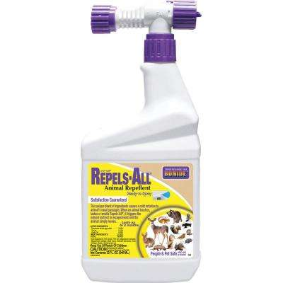 32 oz. Ready-to-Spray Repel-All Natural Animal Repellent
