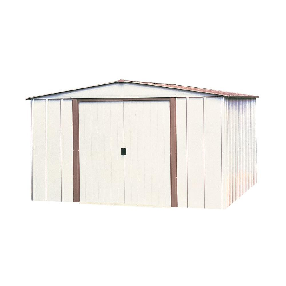 Arrow salem 10 ft x 8 ft steel storage building sa108 the home depot arrow salem 10 ft x 8 ft steel storage building solutioingenieria Gallery