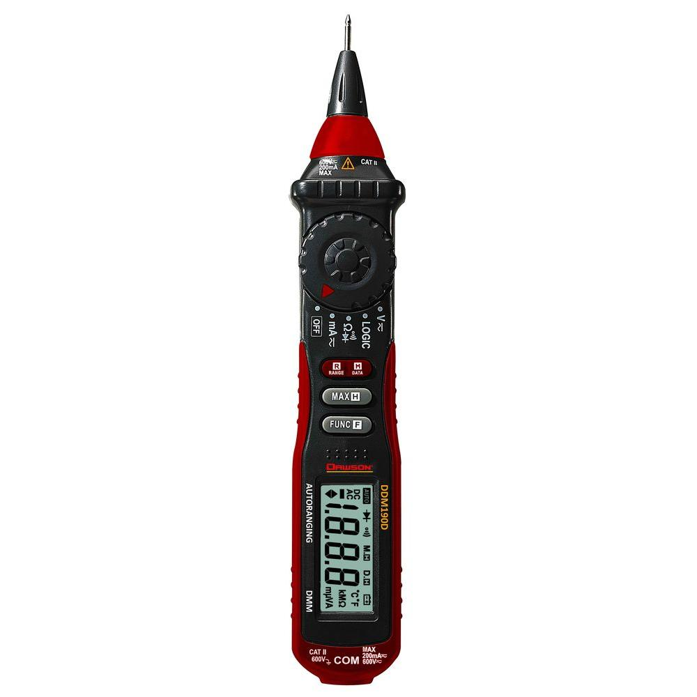 Pen-Type Multimeter with Logic Test