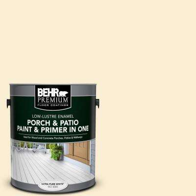 1 gal. #PFC-26 Classic Mustang Low-Lustre Interior/Exterior Paint and Primer In One Porch and Patio Floor Paint