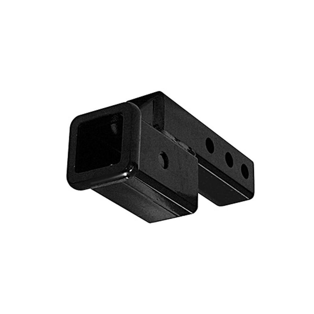 Meyer FHK45058 Receiver Hitch Extension with 2 Drop//Rise Black