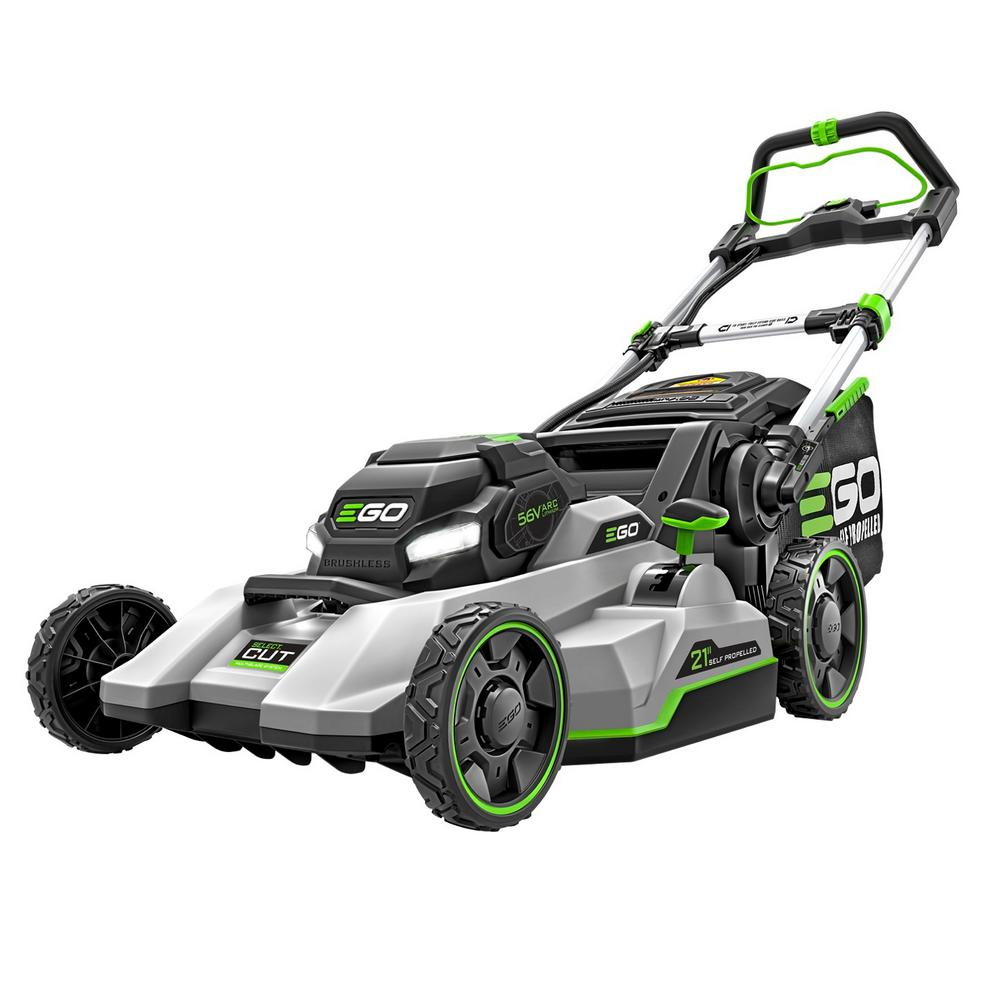 EGO EGO 21 in. Select Cut 56-Volt Lith-ion Cordless Electric Walk Behind Self Propelled Lawn Mower, Battery and Charger Included