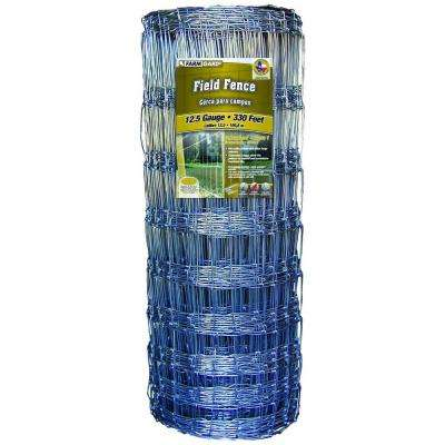 39 in. x 330 ft. Field Fence with Galvanized Steel Class 1 Coating