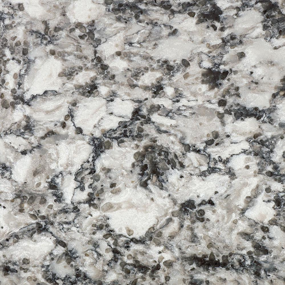 LG Hausys Viatera 3 In. X 3 In. Quartz Countertop Sample In Oyster
