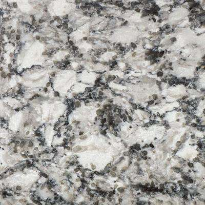3 in. x 3 in. Quartz Countertop Sample in Oyster