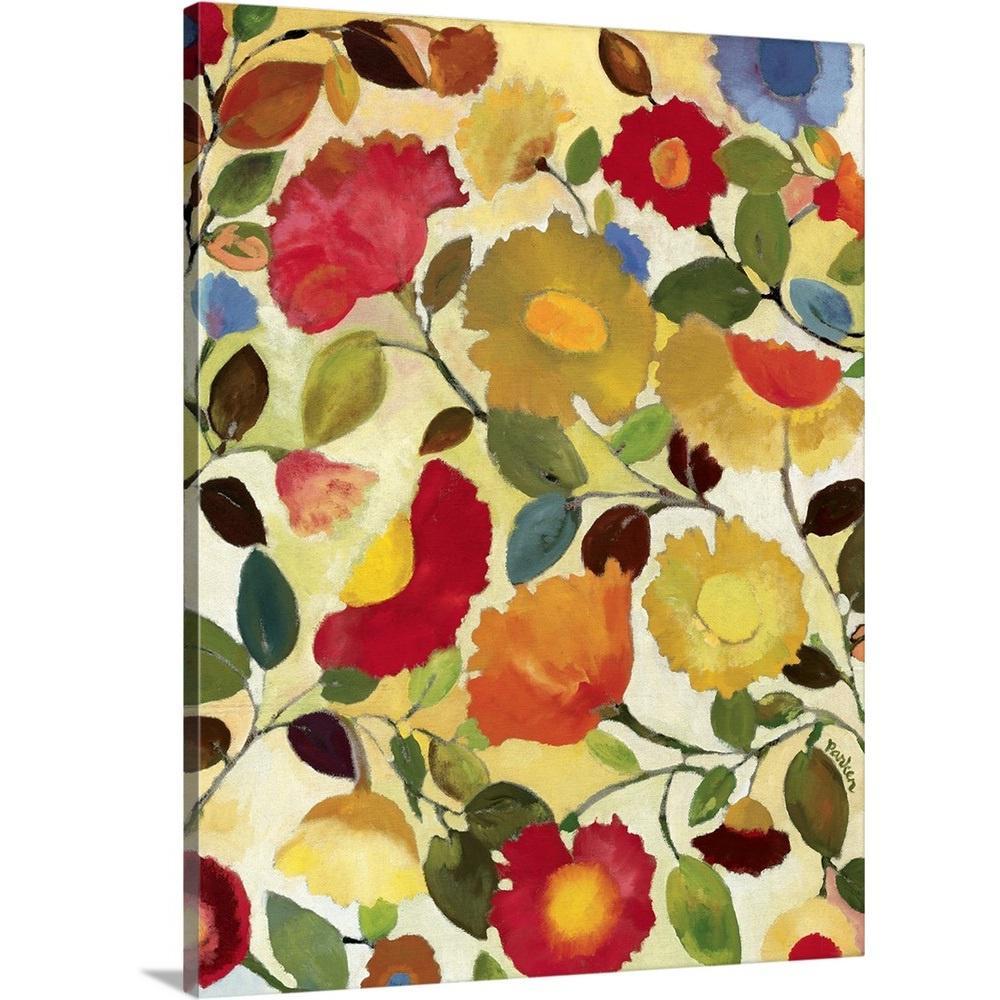 """Tuscan Garden"" by Kim Parker Canvas Wall Art"