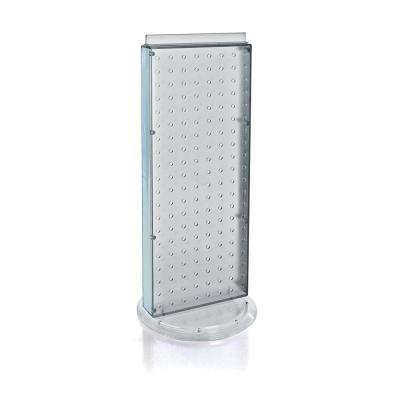 20 in. H x 8 in. W Counter Pegboard Display in Clear