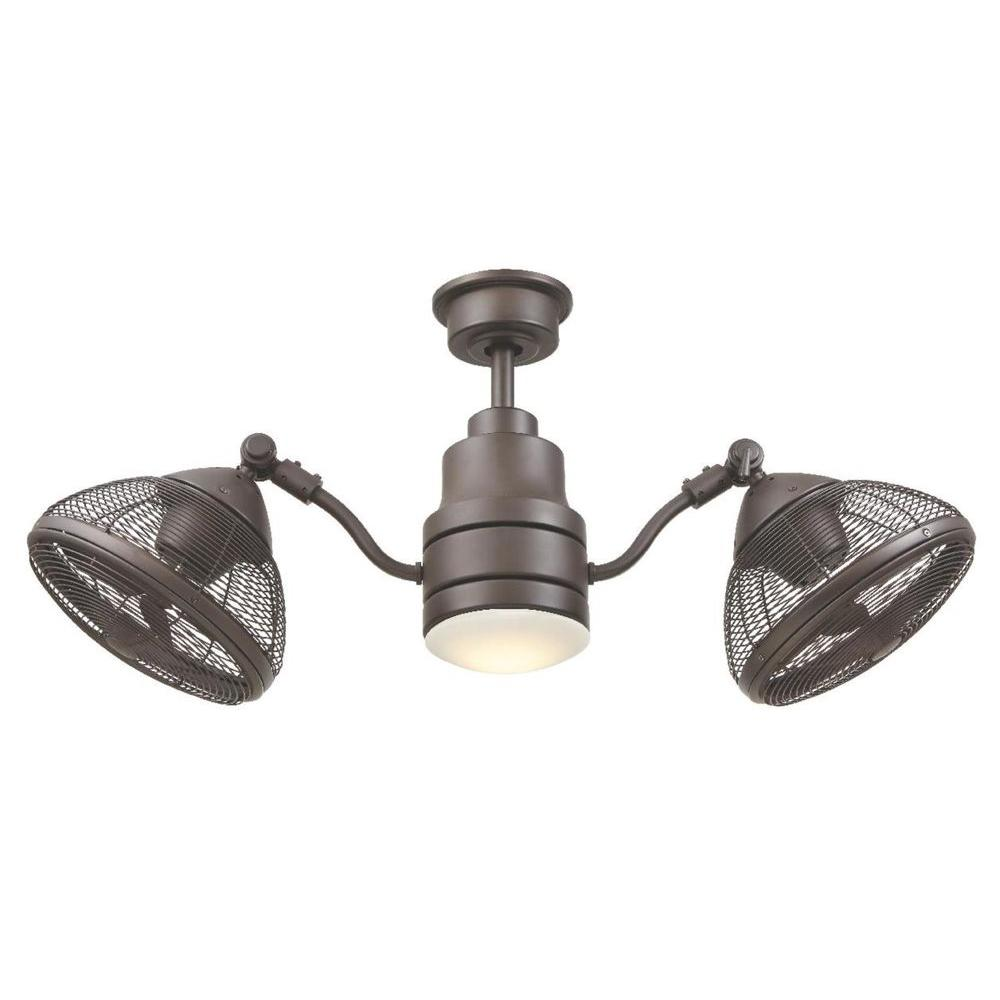 Home Decorators Collection Pendersen 42 In Led Indoor Outdoor Espresso Bronze Ceiling Fan With