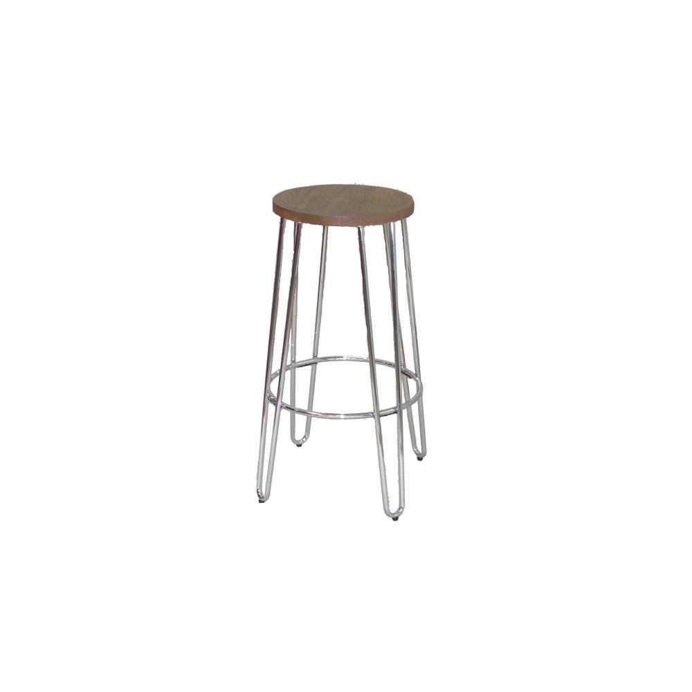 Ace casual furniture 28 94 in chrome bar stool