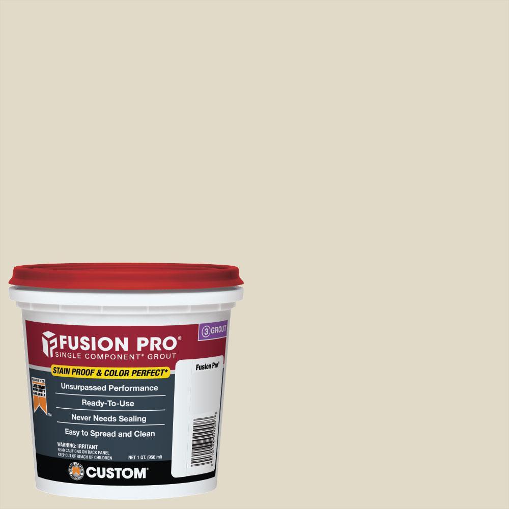 Fusion Pro #333 Alabaster 1 qt. Single Component Grout