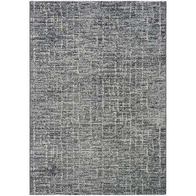 Easton Gravelstone Pewter 2 Ft X 4 Area Rug