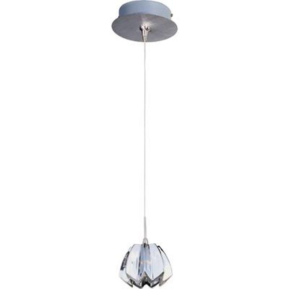 Filament Design Coit 1-Light Satin Nickel Mini Pendant