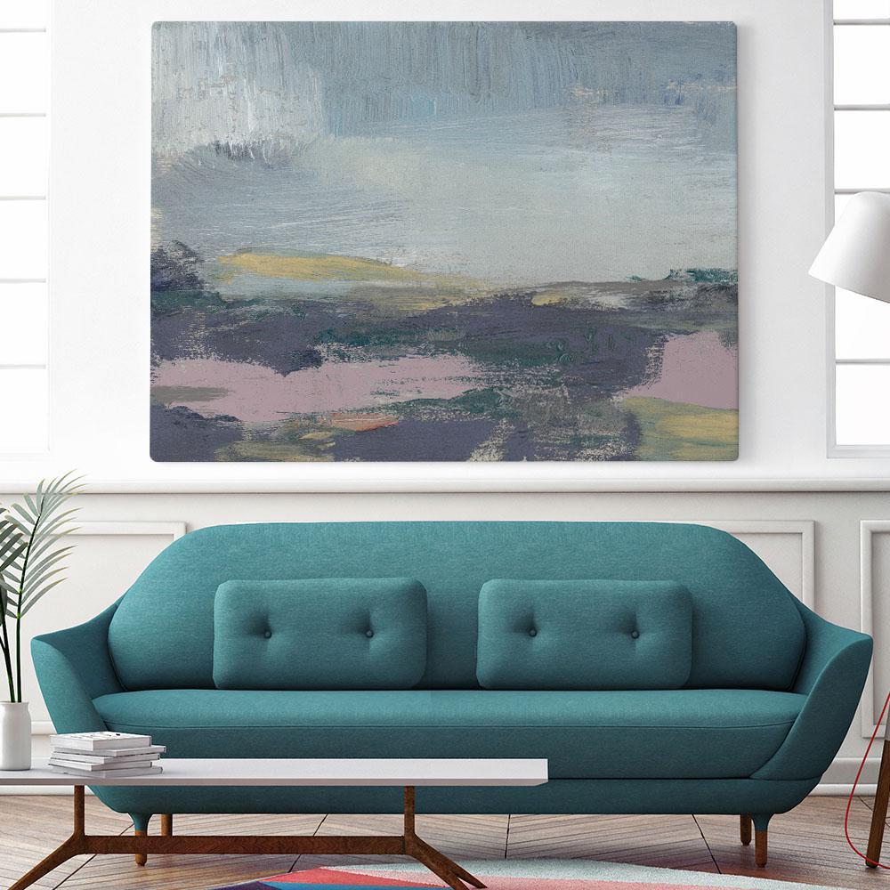 "54 in. x 72 in. ""Pretty Horizon I"" by Jennifer Goldberger Wall Art"