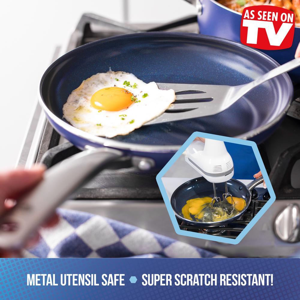 Blue Diamond 12 in. Open Frypan