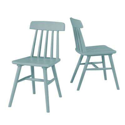 6f12c0f477d5 Modern - Wood - Blue - Dining Chairs - Kitchen   Dining Room ...