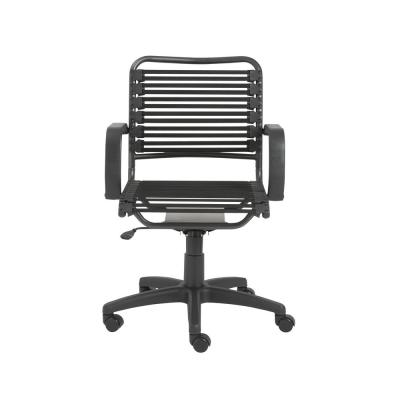 Bungie Black Flat Mid Back Office Chair
