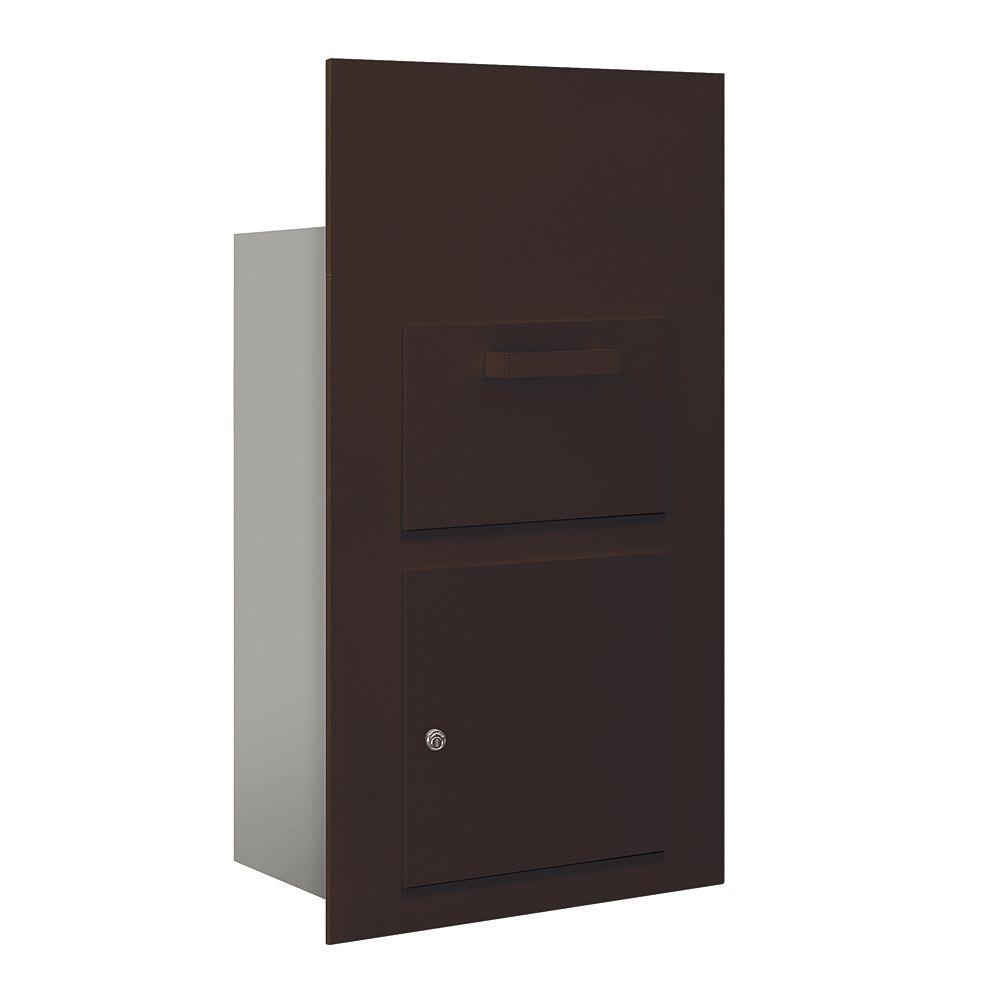 3600 Series Collection Unit Bronze USPS Front Loading for 6 Door