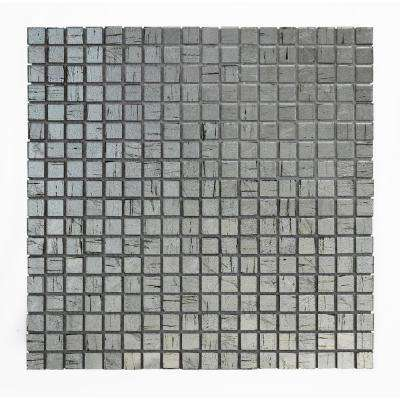 Micro Folia Glass Borage 11-3/4 in. x 11-3/4 in. x 3.2 mm Glass Mosaic Tile (9.59 sq. ft. / case)