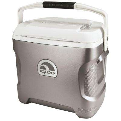 Iceless 28 Qt. Electric Cooler with Retractable Handle