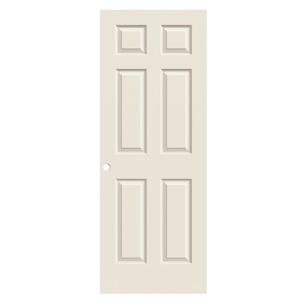 Merveilleux JELD WEN 30 In. X 80 In. Colonist Primed Textured Molded Composite MDF