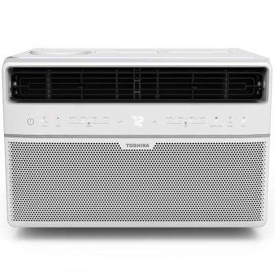 8,000 BTU 115-Volt Smart Wi-Fi Window Air Conditioner with Remote and ENERGY STAR in White