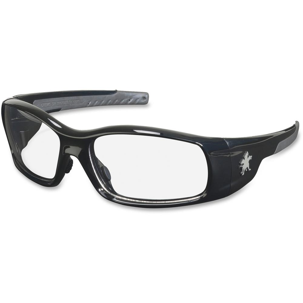 Swagger Black Frame Safety Glasses