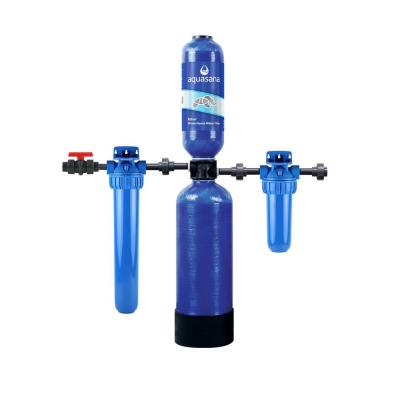Rhino Series 4-Stage 300,000 Gal. Whole House Water Filtration System with 20 in. Pre-Filter
